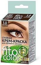 Profumi e cosmetici Crema colorante ciglia e sopracciglia - Fito Cosmetic FitoColor