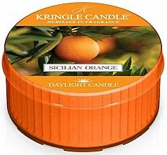 """Profumi e cosmetici Candela da tè """"Sale Marino & Tonka"""" - Kringle Candle Sicilian Orange"""
