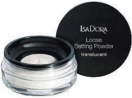 Profumi e cosmetici Cipria sciolta trasparente - IsaDora Loose Setting Powder Translucent