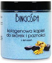 Profumi e cosmetici Sale per unghie e cuticole, con collagene e ginseng - BingoSpa