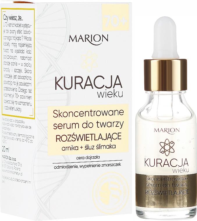 Siero viso altamente concentrato - Marion Age Treatment Serum 70+