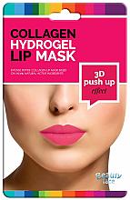 Profumi e cosmetici Maschera idrogel collagene per le labbra - Beauty Face 3D Push-Up Collagen Hydrogel Lip Mask