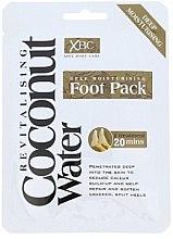 Profumi e cosmetici Maschera calzini per la cura dei piede - Xpel Marketing Ltd Coconut Water Foot Pack