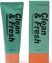 Profumi e cosmetici Maschera per stringere i pori - Eunyul Clean & Fresh Pore Tightening Peel Off Pack