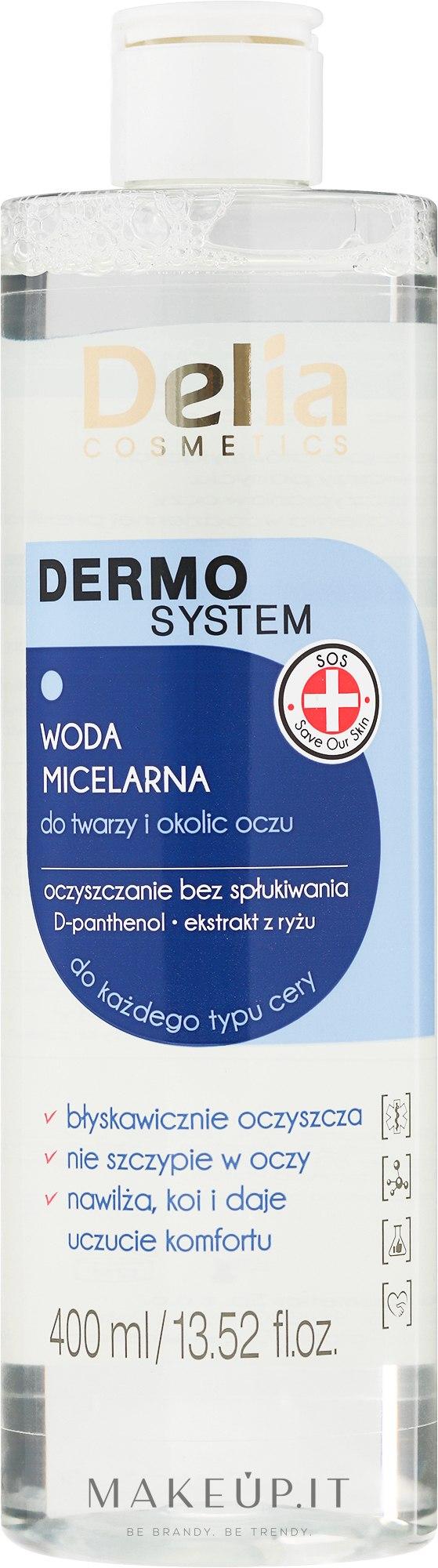 Struccante micellare - Delia Dermo System Micellar Makeup Remover — foto 200 ml