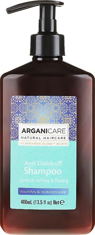 Shampoo antiforfora - Arganicare Shea Butter Anti-Dandruff Shampoo