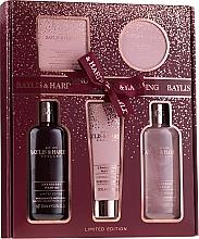 Profumi e cosmetici Set - Baylis & Harding Cranberry Martini Limited Edition Set (sh/gel/300ml + sh/cr/300ml + h/b/lot/130ml + soap/150g + b/butter/100ml)