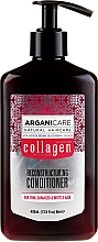 Profumi e cosmetici Balsamo capelli al collagene - Arganicare Collagen Reconstructuring Conditioner