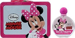 Profumi e cosmetici Air-Val International Disney Minnie Mouse - Set (edt/100ml + bag)