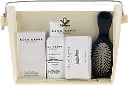 Profumi e cosmetici Set - Acca Kappa (edp/30ml + b/lotion/100ml + soap/50g + hairbrush)