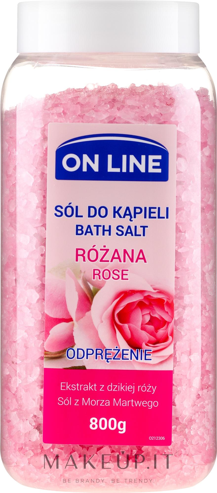 "Sale da bagno ""Rosa"" - On Line Rose Bath Sea Salt — foto 800 g"