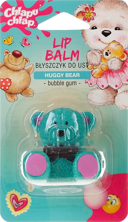 """Balsamo labbra """"Bear"""", con l'aroma di gomma da masticare - Chlapu Chlap Lip Balm"""