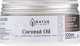 Profumi e cosmetici Olio di cocco non raffinato - Natur Planet Coconut Oil