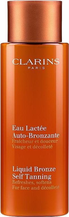 Lozione abbronzante viso e décolleté - Clarins Liquid Bronze Self Tanning