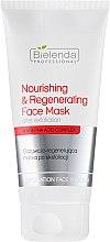 Profumi e cosmetici Maschera viso nutriente e rigenerante post-esfoliante - Bielenda Professional Exfoliation Face Program Nourishing And Regenerating Face Mask