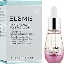 "Profumi e cosmetici Olio viso ""Rosa"" - Elemis Pro-Collagen Rose Facial Oil"