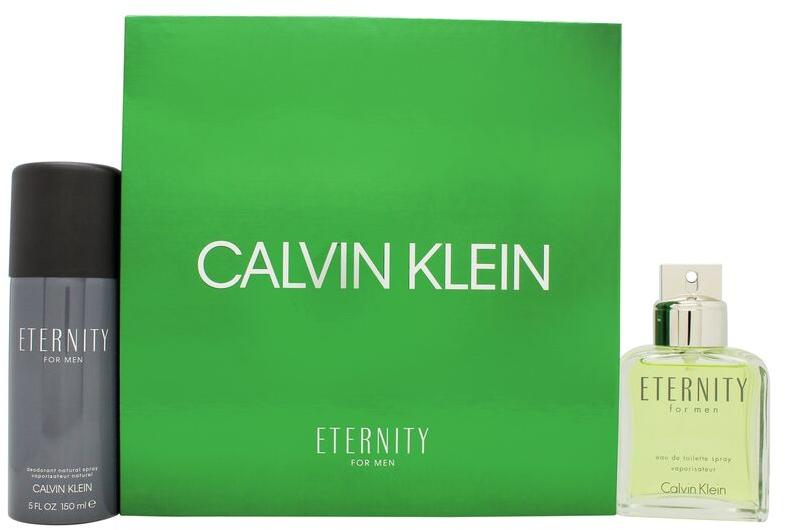 Calvin Klein Eternity For Men - Set (edt/100ml + deo/150ml) — foto N1