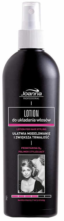 Lozione fissante per capelli - Joanna Professional Lotion for Hair Styling Very Strong — foto N1