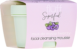 Profumi e cosmetici Mousse detergente viso - Fluff Facial Cleansing Mousse Wild Blueberry