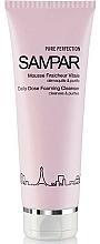 Profumi e cosmetici Mousse struccante e purificante per pelli grasse e miste - Sampar Pure Perfection Daily Dose Foaming Cleanser