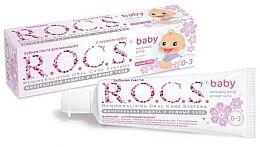 Profumi e cosmetici Dentifricio al tiglio per bambini - R.O.C.S. Baby