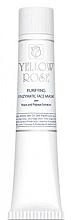 Profumi e cosmetici Maschera viso al lievito (tubo) - Yellow Rose Purifying Enzymatic Face Mask