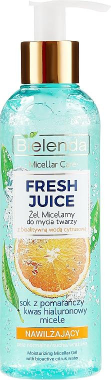 Gel micellare idratante ''Arancia'' - Bielenda Fresh Juice Micellar Gel Orange
