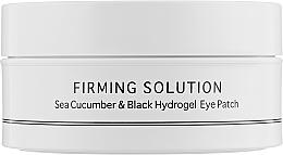 Profumi e cosmetici Patch contorno occhi in idrogel con estratto di cetriolo di mare e polvere di perle nere - BeauuGreen Sea Cucumber & Black Hydrogel Eye Patch