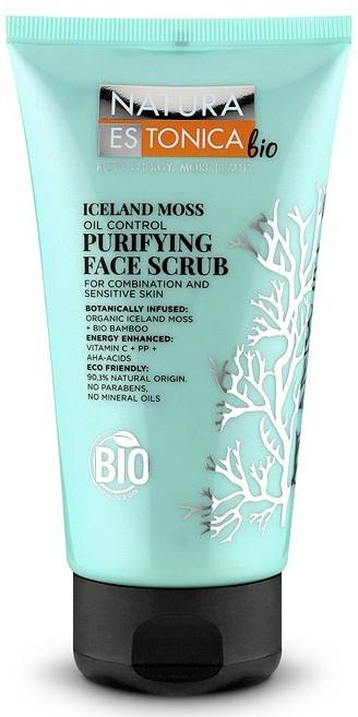 Scrub detergente viso, muschio islandese - Natura Estonica Iceland Moss Face Scrub
