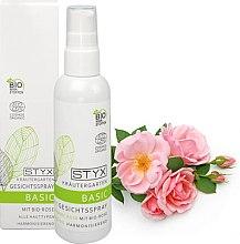 Profumi e cosmetici Spray viso con estratto di rosa - Styx Naturcosmetic
