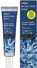 Profumi e cosmetici Maschera viso, da notte - Tolpa Dermo Face Sebio Night Blocker Sebum Mask