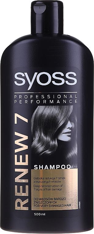 Shampoo per capelli danneggiati - Syoss Renew 7 Complete Repair Shampoo