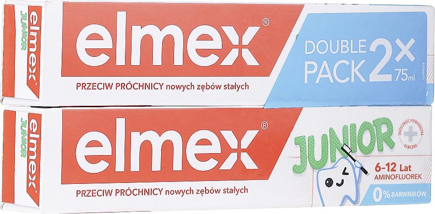 Set - Elmex Junior Toothpaste (2xtoothpaste/75ml)