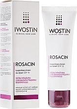 Profumi e cosmetici Crema da giorno lenitiva - Iwostin Rosacin Soothing Day Cream Against Redness SPF 15