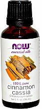 Profumi e cosmetici Olio essenziale di cannella cinese - Now Foods Essential Oils 100% Pure Cinnamon Cassia