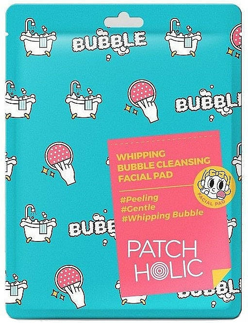Cuscinetto detergente viso - Patch Holic Whipping Bubble Cleansing Facial Pad — foto N1