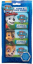 Profumi e cosmetici Salviettine umidificate - Nickelodeon Paw Patrol Hand & Face Wipes