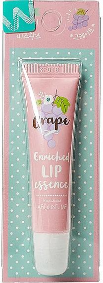 Essenza per labbra al profumo d'uva - Welcos Around Me Enriched Lip Essence Grape