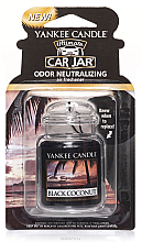 Profumi e cosmetici Gel aromatizzatore - Yankee Candle Car Jar Ultimate Black Coconut