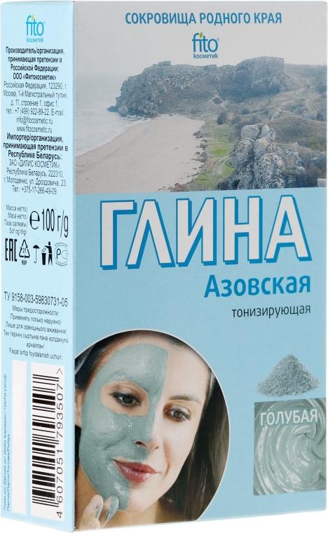 """Argilla per viso e corpo """"Azov"""", azzurra - Fito cosmetica"""
