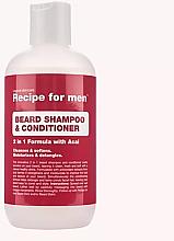 Profumi e cosmetici Shampoo condizionante per barba - Recipe for Men Beard Shampoo & Conditioner