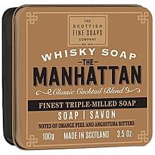 Profumi e cosmetici Sapone - Scottish Fine Soaps The Manhattan Soap In A Tin