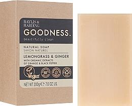 Profumi e cosmetici Sapone - Baylis & Harding Goodness Sea Lemongrass & Ginger Natutal Soap