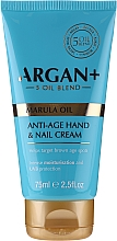 Profumi e cosmetici Crema mani e unghie - Argan+ Anti Age Hand & Nail Cream