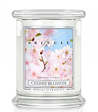 Profumi e cosmetici Candela profumata in vetro - Kringle Candle Cherry Blossom