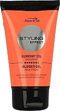 Profumi e cosmetici Gel gomma modellante per capelli massima fissazione - Joanna Styling Effect Rubber Gel Mega Strong Maximum Fixation Hairstyle