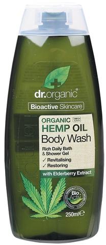 "Gel doccia ""Olio di canapa"" - Dr. Organic Bioactive Skincare Hemp Oil Body Wash — foto N1"