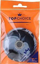 Profumi e cosmetici Specchio cosmetico doppio, nero-grigio, 5565 - Top Choice