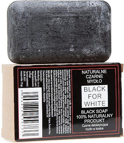 Sapone nero naturale - Biomika Black For White