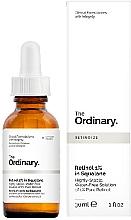 Profumi e cosmetici Siero al retinolo 1% in squalane - The Ordinary Retinol 1% in Squalane